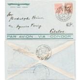 Envelope de Porto Alegre Para Pelotas