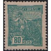 RHM 179 - 80 Réis - Agricultura - verde