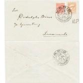 Envelope enviado de  Porto Alegre para Livramento