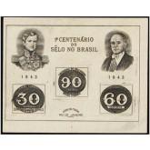 B-007 - Centenário do Selo Brasileiro