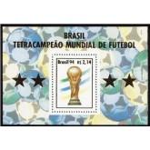 B-098 - Brasil Tetra-Campeão Mundial de Futebol