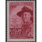 A-85 - 100 Anos de Lord Baden Powell - 1857/1941 - Criador do Escotismo