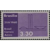 A-93 - Inauguração de Brasília - Nova Capital Federal / Três Poderes