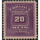 X-28 - 20 Réis - Violeta
