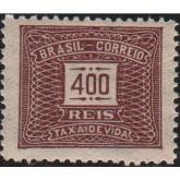 X-63 - 400 Réis - Castanho