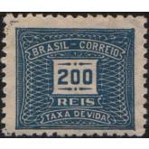X-69 - 200 Réis - Azul
