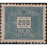 X-84 - 200 Réis - Azul