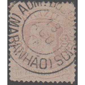 RHM 57 - Com Carimbo Da Admnistração Dos correios Do Maranhão