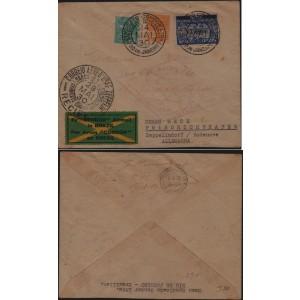 Carta enviada do Rio de Janeiro para Alemanha