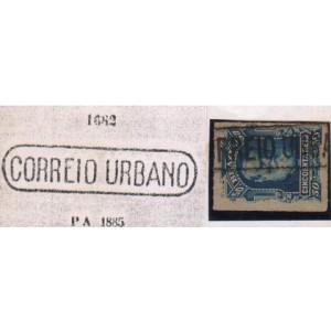 RHM 39 - Com Carimbo P.A. 1682 - CORREIO URBANO