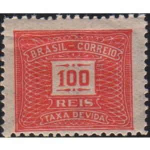 X-61 - 100 Réis - Vermelho Alaranjado