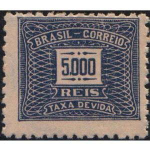 X-89 - 5.000 Réis - Azul