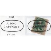 RHM 27 - Com Carimbo P.A. 1262 : A. Do C. Capivary