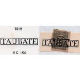 RHM 14 - Com Carimbo P.A. 1512 : Taubaté