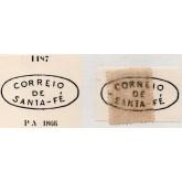 RHM 60 - Com Carimbo P.A. 1187 : Correio de Santa-Fé