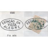 RHM 60 - Com Carimbo P.A. 1537 : Estação da Vista Alegre