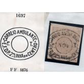 RHM 65 - Com Carimbo P.A. 1697 : Correio Ambulante