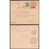 Envelope enviado de Cruz Alta para Porto Alegre