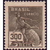RHM 222 - 300 Réis - Mercúrio e Globo - preto