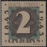 A-49 - Centenário do Selo Postal Brasileiro / BRAPEX II