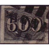 RHM 18 - 600 Réis Vertical - Carimbado