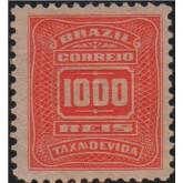 X-37 - 1.000 Réis - Vermelho