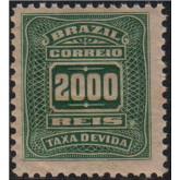 X-38 - 2.000 Réis - Verde