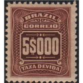 X-39 - 5.000 Réis - Castanho