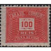 X-44 - 100 Réis - Vermelho