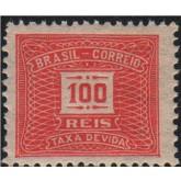 X-48 - 100 Réis - Vermelho