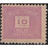 X-76 - 10 Réis - Violeta