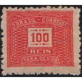 X-78 - 100 Réis - Vermelho