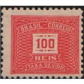 X-83 - 100 Réis - Vermelho